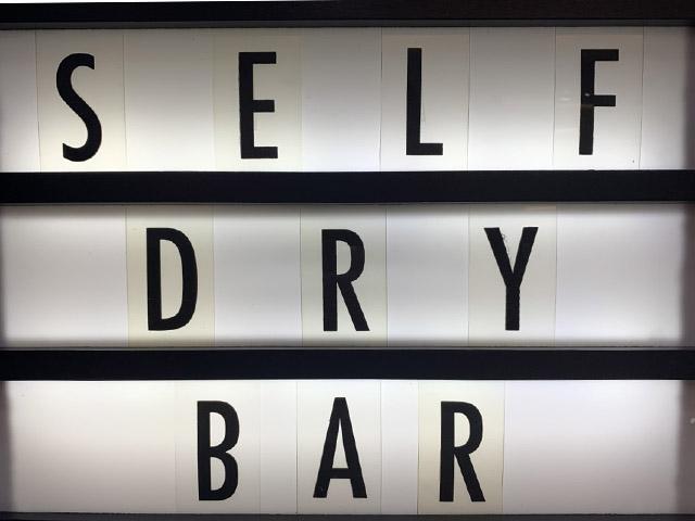 self dry bar at camerini